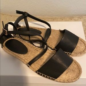 Forever 21 Black and Tan flats